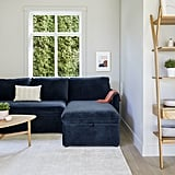 Article Oneira Tidal Blue Right Sofa Bed