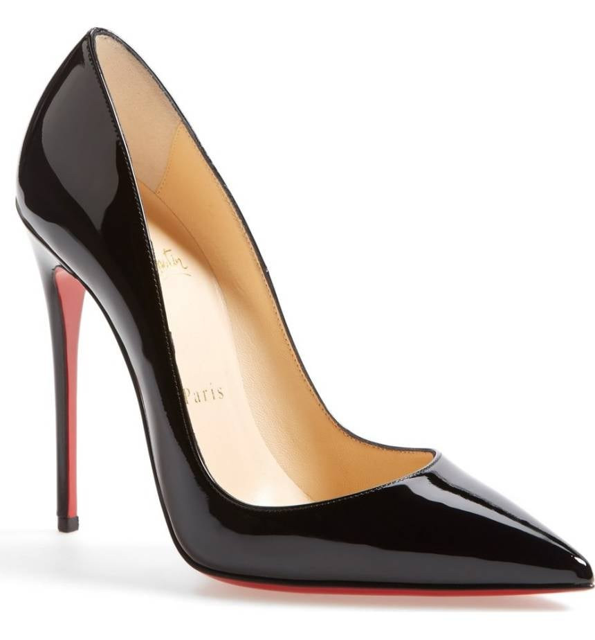 Our Pick:  Christian Louboutin Pointy Toe Pumps