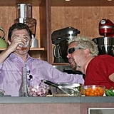 Bobby Flay and Guy Fieri