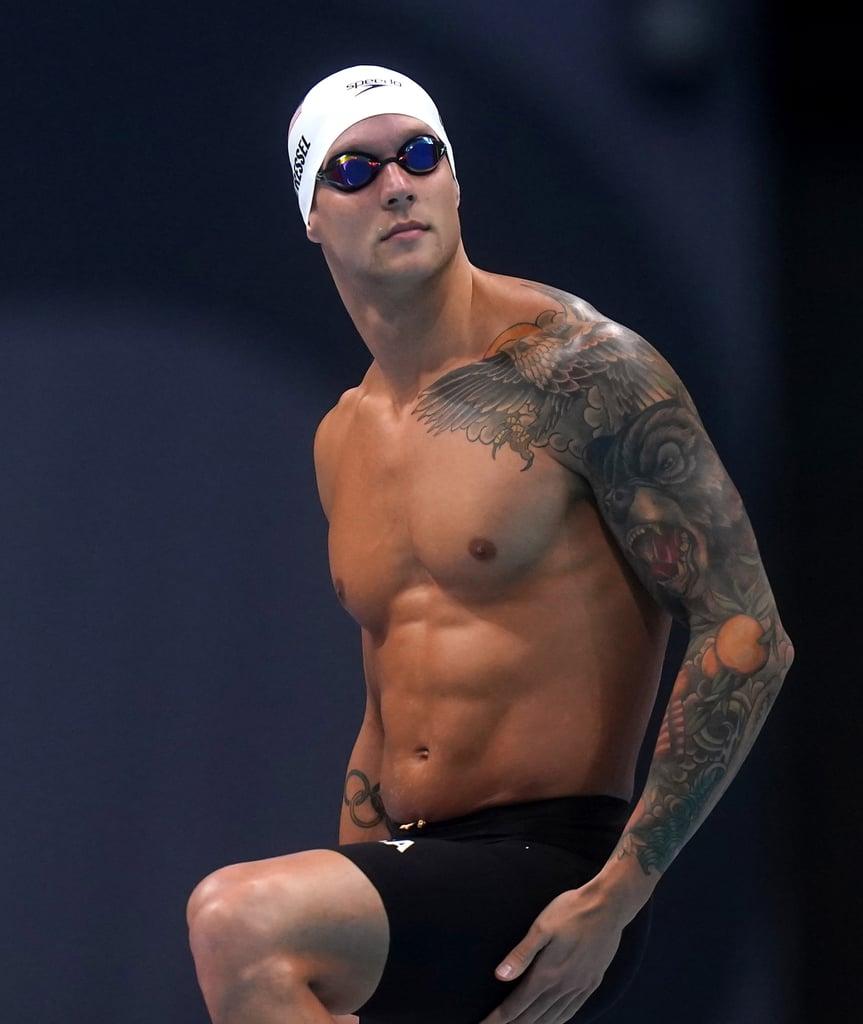 Sexy Photos of Team USA Olympic Swimmer Caeleb Dressel