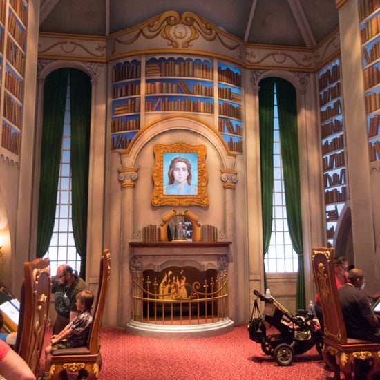 Where Is Beasts Library In California Adventure