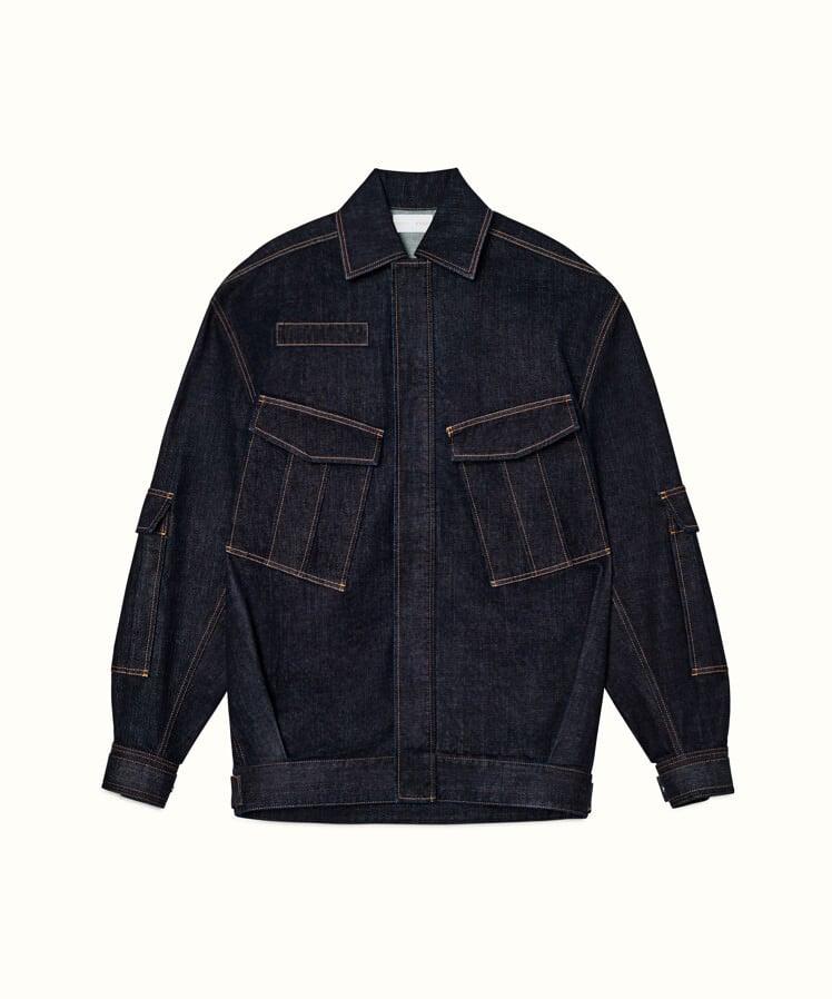 Fenty Oversize Denim Jacket