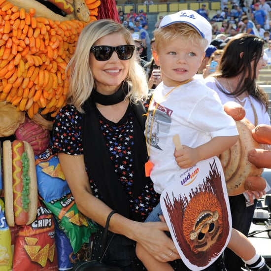 Fergie's Son Axl Dancing to Justin Timberlake Video 2016