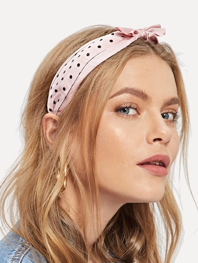 Shein Bow Decorated Headband