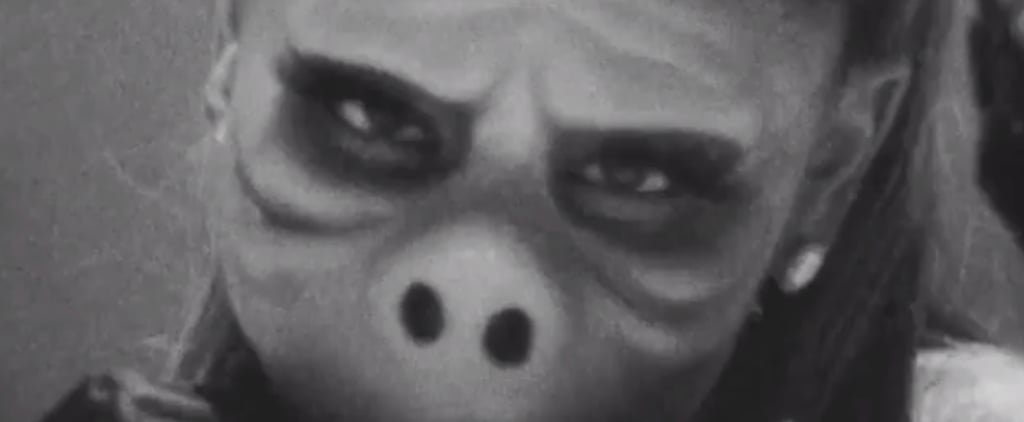 Ariana Grande's Halloween Costume Honours The Twilight Zone