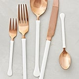 Copper Top Flatware Set