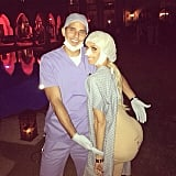 Giuliana Rancic hopped on the big-butt trend while her husband, Bill Rancic, played her doctor.