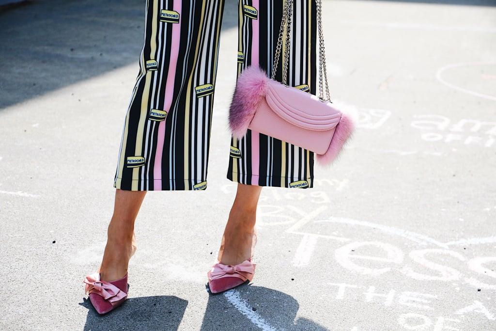 Look Pretty in a Pair of Pink Velvet Heels