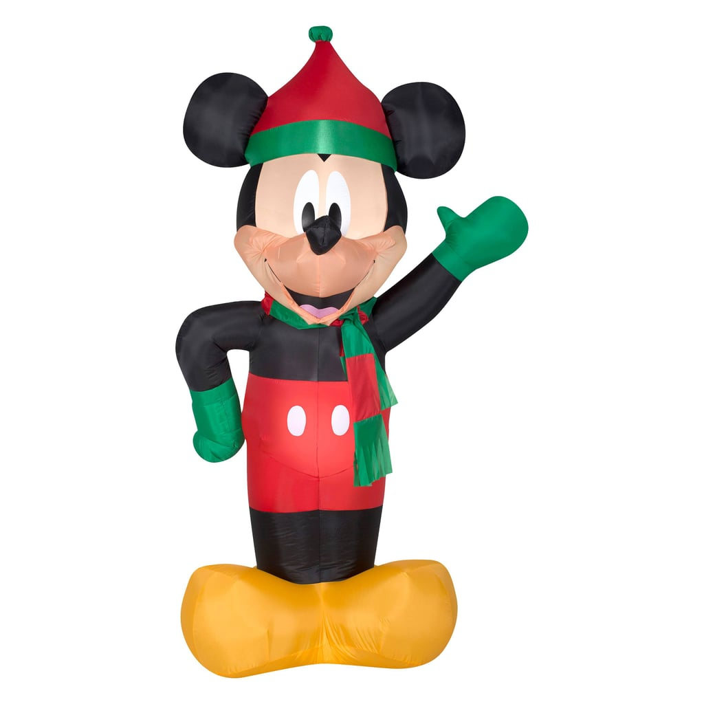 6 foot blow up mickey mouse lawn ornament - Mickey Mouse Christmas Lawn Decorations