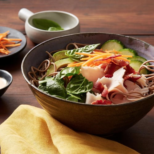 Easy Lunch Noodle Bowl