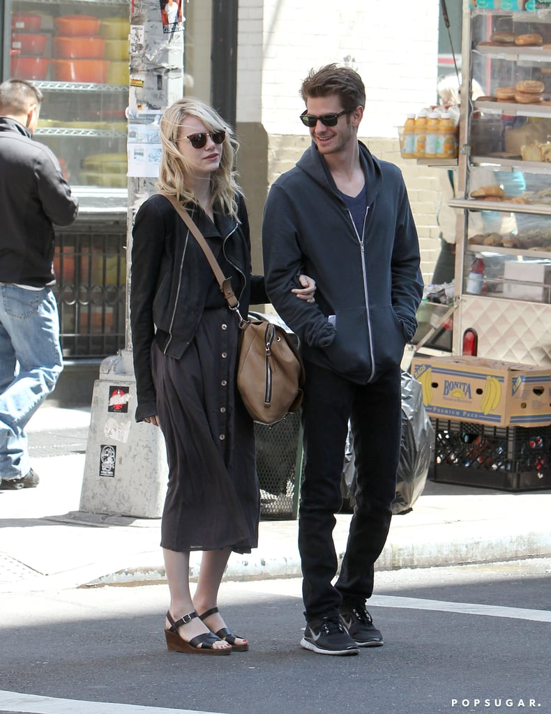 Andrew Garfield With E... Andrew Garfield Married