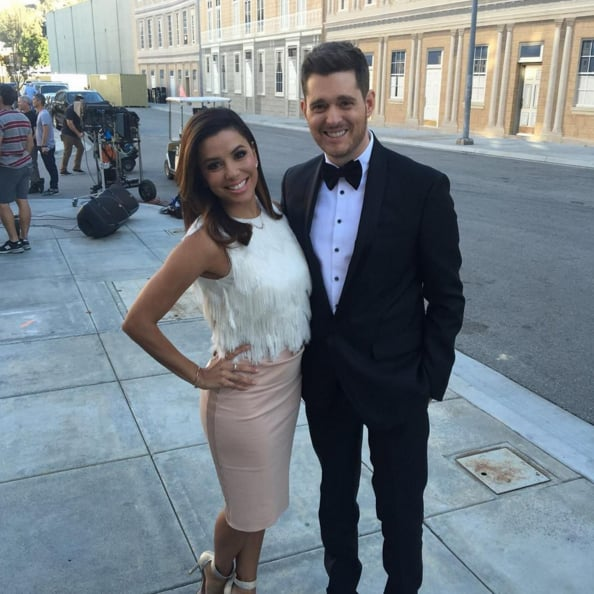 Michael Buble Christmas Photo With Kylie Jenner | POPSUGAR Celebrity