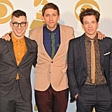 Jack Antonoff, Andrew Dost, and Nate Ruess attended the Grammy Nominations concert in Nashville.