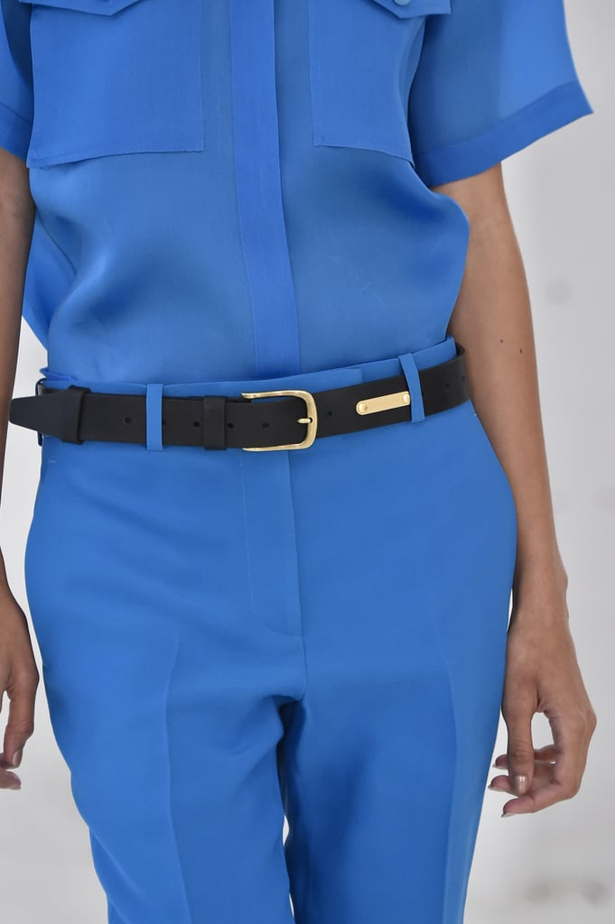A Belt on the Helmut Lang Runway at New York Fashion Week