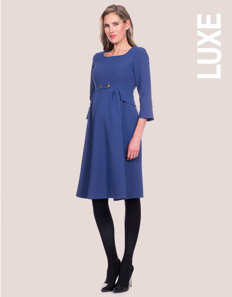 Kate Middleton Blue Seraphine Dress Popsugar Fashion