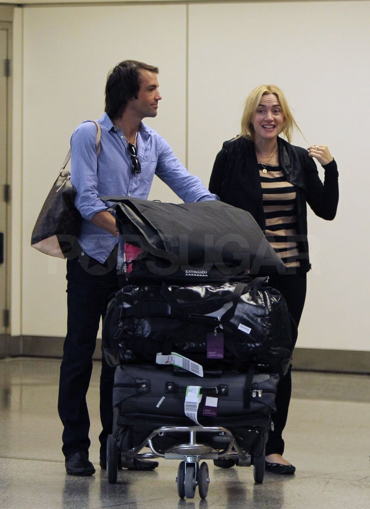 Kate and Ned arrived together in San Francisco.