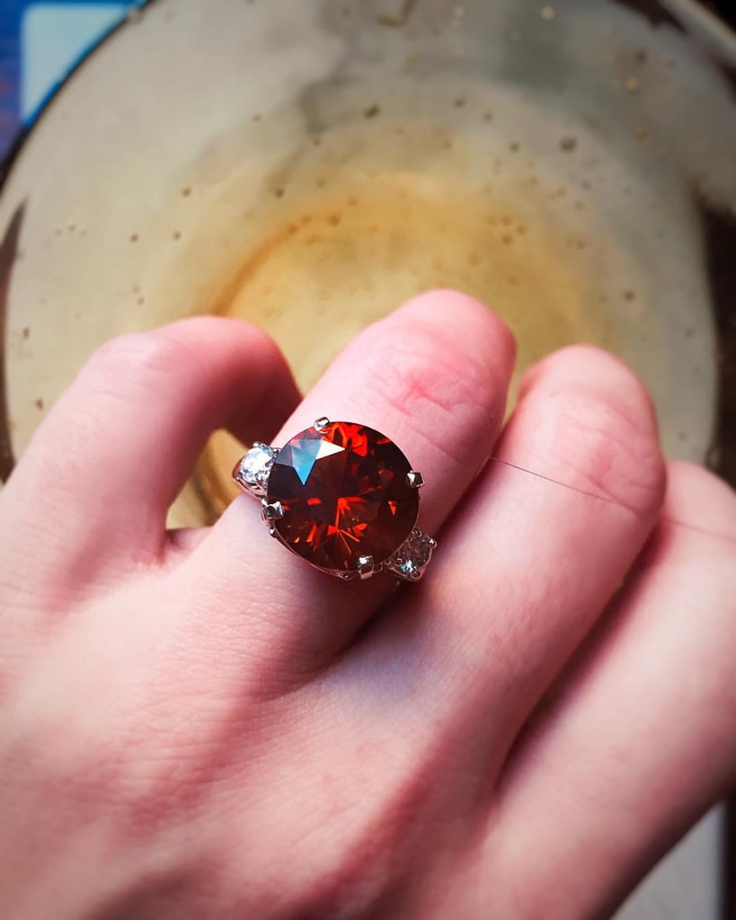 Big Red | Amazing Colorful Engagement Rings | POPSUGAR Middle East ...