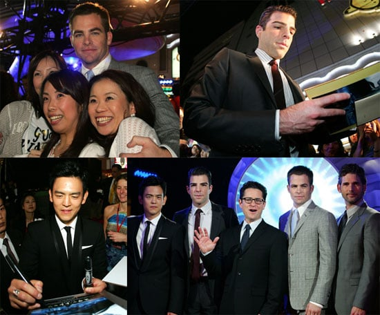Photos of Chris Pine, Zachary Quinto, JJ Abrams and More At Star Trek Premiere in Japan