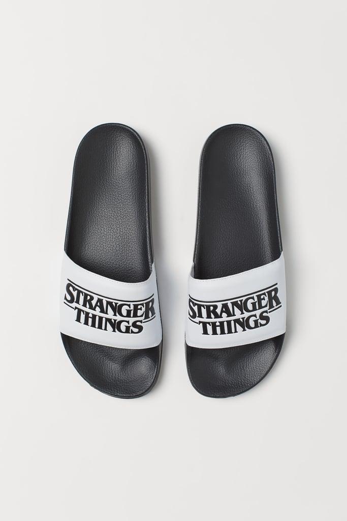 Stranger Things x H&M Pool Shoes