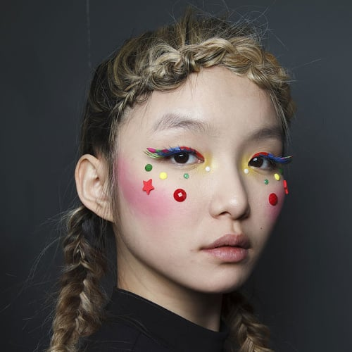 Dramatic Eyelash Trend Fall 2014 Paris Fashion Week