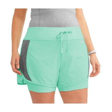 0ad4571203e Avia Active Perforated Running Short With Built-In Compression ...