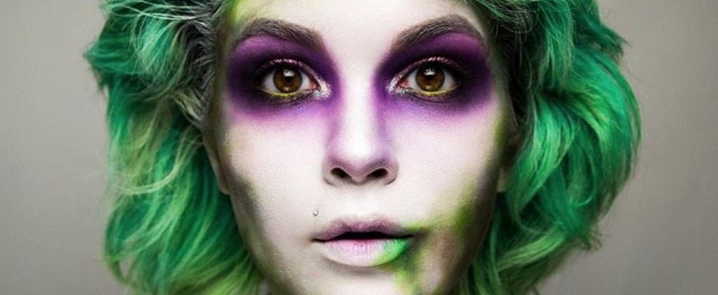 "11 Halloween Makeup Looks That Will Make You Scream, ""Beetlejuice, Beetlejuice, Beetlejuice!"""