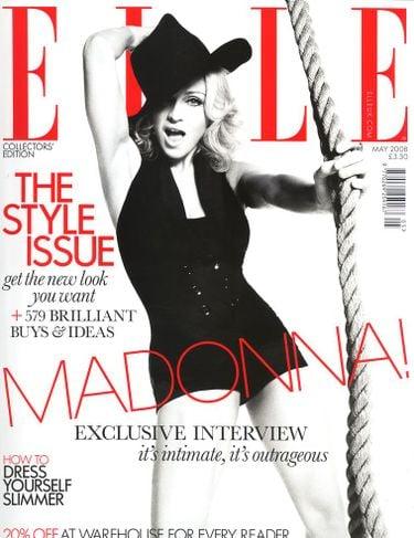 Elle UK covers