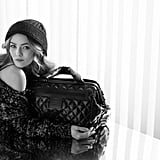 Chanel favorite Vanessa Paradis replaced Lily Allen as the pitchwoman for the Coco Cocoon bag.