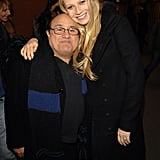 She hung out with Danny DeVito at the Sundance Film Festival in Park City, UT, back in January 2007.