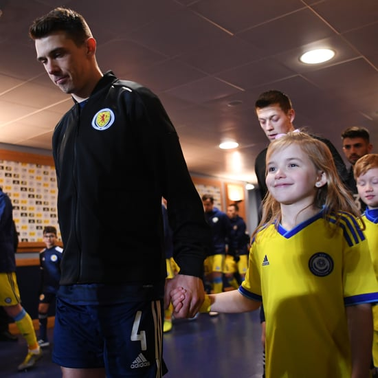 Why Soccer Teams Are Escorted by Children Before a Match