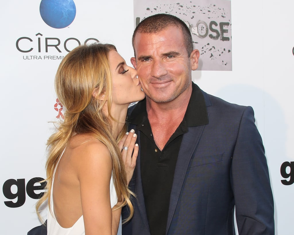 "AnnaLynne McCord and Dominic Purcell make such a cute couple. The two first met on the set of Officer Down, and began dating in 2011. Although they split three years later, they became friends again when the Prison Break actor was diagnosed with skin cancer in 2015. ""I was there with him because whether or not he knew it, I love him,"" the former 90210 star confessed during a podcast. Shortly after, the pair rekindled their romance, and have been full of sweet moments ever since. Despite their 17-year age difference — she's 29 and he's 46 — the two seem to be head over heels, constantly gushing about each other and showing PDA. See some of their cutest appearances together below.       Related:                                                                31 TV Couples Who Became Real Couples                                                                   28 Real Couples Who Played Couples on Screen"