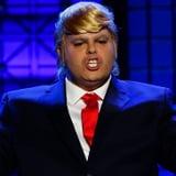 Josh Gad as Donald Trump on Lip Sync Battle