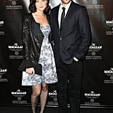 Alexis Bledel and Vincent Kartheiser attended The Macallan Masters of Photography Series Launch at the Bowery Hotel in NYC.
