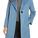 Fleurette Single Button Wool Coat