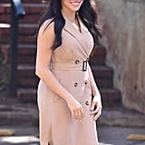 Meghan Markle in Banana Republic's Double-Breasted Trench Dress