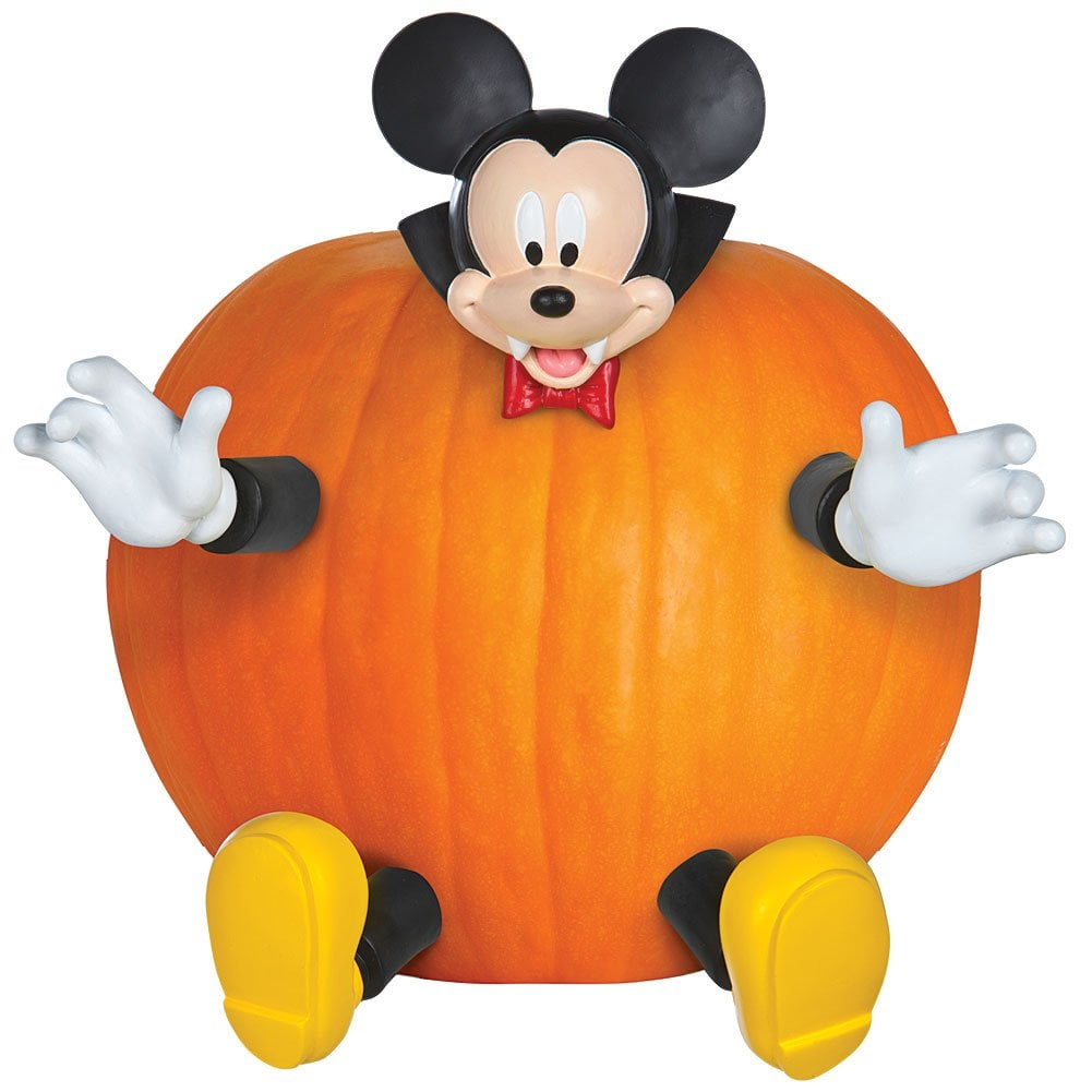 Pumpkin Push-In Mickey