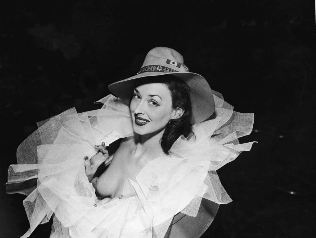 Dorian Leigh, John Frederiks hat, 1940.