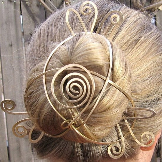 Is this Etsy Chignon Holder Really Wearable?