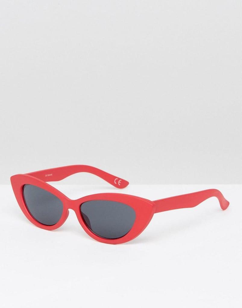 ASOS Small Pointy Cat Eye Sunglasses