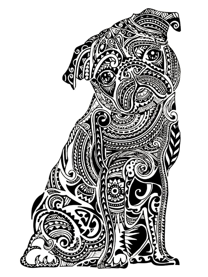 Get The Coloring Page Pug Free Coloring Pages For