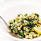 Lemony-Garlic White Bean Salad With Hemp Seed Pesto