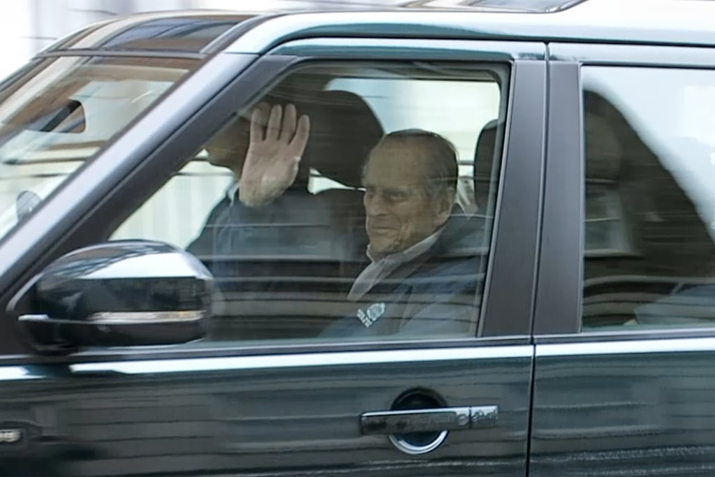 "Prince Philip recently underwent a hip replacement operation, and on Friday, the 96-year-old royal was photographed leaving King Edward VII's Hospital in London. Philip appeared to be in good spirits as he flashed a sweet smile and waved to nearby onlookers.  Philip was admitted into the hospital for hip surgery on April 3. Buckingham Palace released a statement at the time, saying that the royal had been having ""trouble with his hip"" recently, which is why he canceled his annual Maundy church service appearance with Queen Elizabeth II this year. Following his surgery, the palace confirmed that the operation was ""successful"" and that Philip was ""progressing satisfactorily."" We're so glad to hear that Philip is doing much better!"