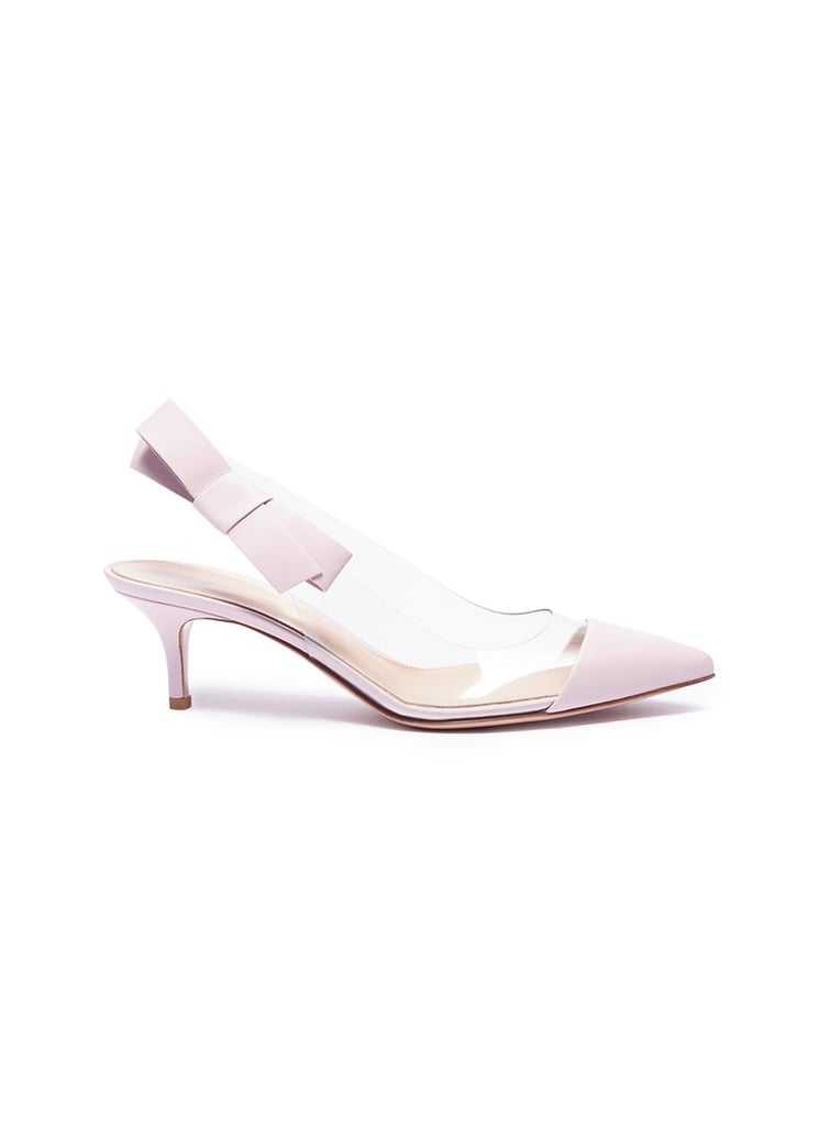 040204cc74bf Gianvito Rossi Mia Bow PVC Pumps