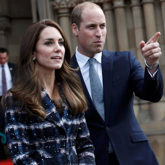 Prince William and Kate Middleton in Manchester October 2016