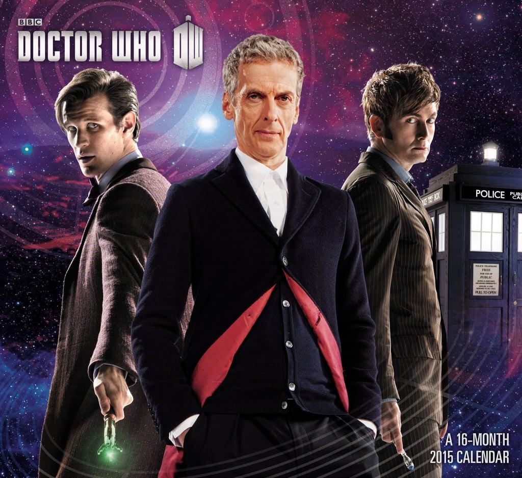 Doctor Who Wall Calendar ($13)