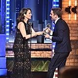 When Tina Fey Presented His Award
