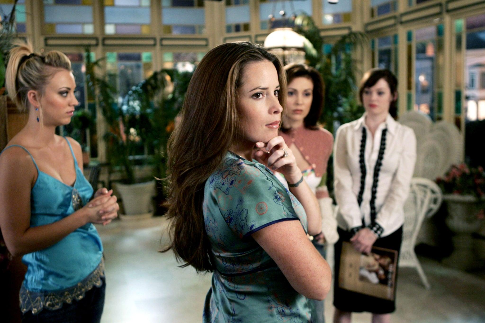 CHARMED, Kaley Cuoco, Holly Marie Combs, Alyssa Milano, Rose McGowan, (Season 8), 1998-2006, photo:  Viacom / Courtesy Everett Collection