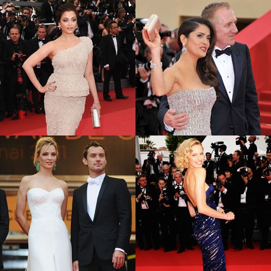 Pictures of Cannes Film Festival Opening Ceremony