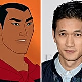 Li Shang — Harry Shum Jr.