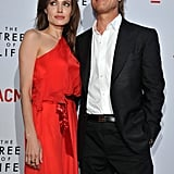 Smooth Faced Brad Pitt Has Red-Hot Angelina Jolie by His Side at the Tree of Life Premiere